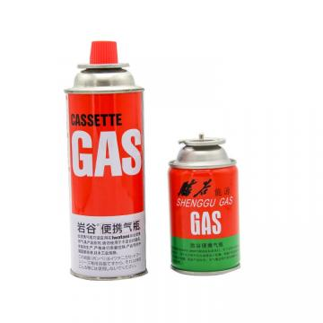 Butanel Fuel Canisters for Portable Camping Stoves can cylinder, 220g
