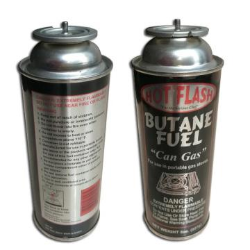 Portable Butane Gas Cartridge for portable stove