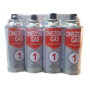 Hotsale low pressure gas canister filled with butane can cylinder, 220g