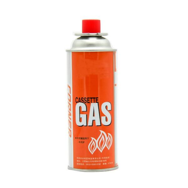 220g slim Portable 400ml portable camping butane gas canister manufacturing